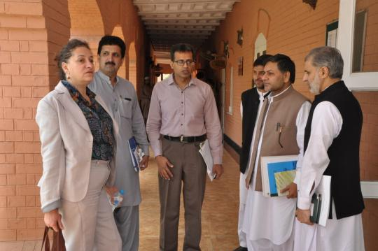 European Union (EU) delegation visits Academy