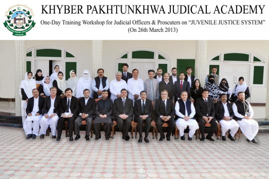 "One-Day Training Workshop for Judicial Officers & Prosecutors on ""JUVENILE JUSTICE SYSTEM"" (on 26th March 2013)"